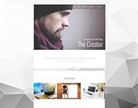 The Creator Web Template