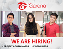 Garena PH Hiring Materials