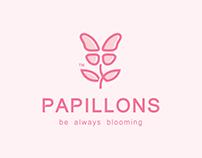 Papillons | logo design | Egypt