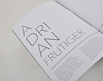 Life and Times (Adrian Frutiger)