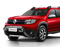 New Renault Duster Oroch 2018