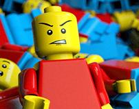 Lego Man   3D Scene