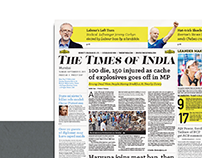 The Times Of India: Newspaper Redesign