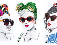 Fashion illustrations (personal project)