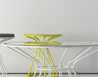 Sirio - coffee tables collection for Miniforms Spa