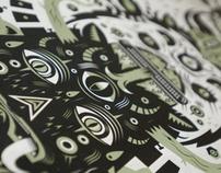 Totem - Silkscreen print