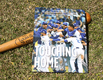 """Touching Home"" Kansas City Royals World Series book"