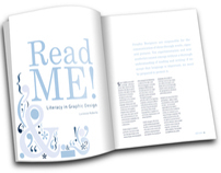 Read ME! Literacy in Graphic Design