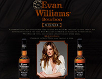 Evan Williams Model Search Microsite.
