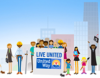 United Way Live United Illustration