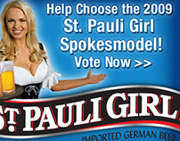 St.Pauli Girl Model Search campaign
