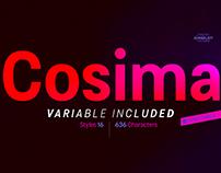 Cosima - Free Font Trials
