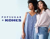 Popsugar + Kohl's