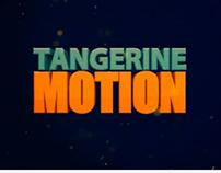 Animação logo tangerinemotion