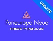Paneuropa Neue - Free Typeface