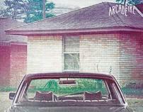 ARCADE FIRE - 8 ALBUM COVERS PHOTOS BY GABRIEL JONES