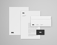 Simple Stationery Mockup Template