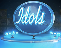 Telkom Idols End Logo
