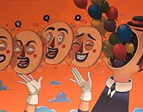 Funny Game of Masks
