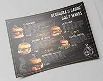 Folder/Cardápio - La Comparsa Pub