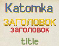 font Katomka