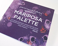 Urban Decay Mariposa Palette Visual Merchandising