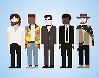 Pixel Inspirational Characters
