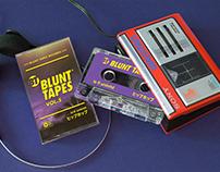 Blunt Tapes Logo + Vol.5 Artwork