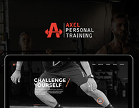 Web Design & Development - Axel Personal Training