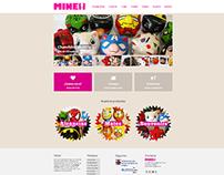 Diseño Web Mine Objetos
