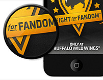 Buffalo Wild Wings. Fight For Fandom App