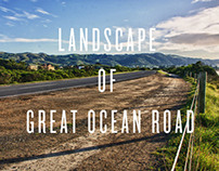 Landscape of Great Ocean Rd
