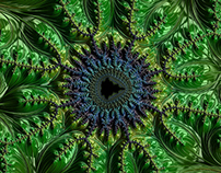 infinite mathematical fractals