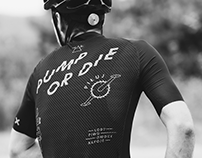 SLVN Custom Cycling Kit | PUMP OR DIE