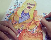 Dibujo, ilustración y pintura