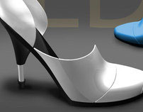 Retractable High-heel