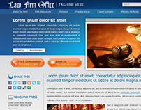 Law Firm Web Template Proposal