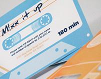 MIXX It UP- Concert Invitation