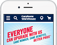 Carphone warehouse mobile site checker out