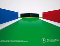 "Mercedes-Benz ""3D Flags"" (Print)"