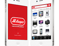 Mvideo app for iPhone