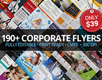 190+ Corporate Flyers – Only $39