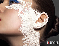Tanja Tremel: Beauty Editorial for L'Officiel