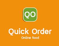 Quick Order Online Food App Concept