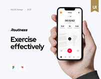 Routiness – Workout app