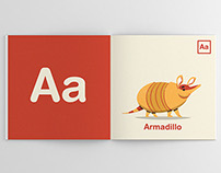 ABC Illustrated Animal Alphabet