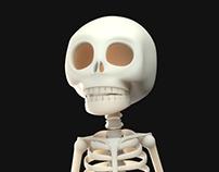 3D Skeleton Model =