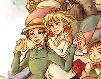 Studio Ghibli Illustrations (Part 1)