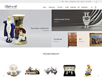 Clyde Antiques E-commerce Website