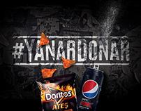Doritos & Pepsi - #yanardonar felsefesi